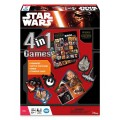 Board Game Star Wars The Force Awakens 4 in 1